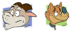 Just a couple of icons by valdo-wolf