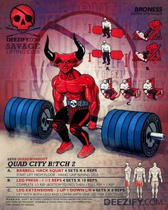 quad workout: quad city 2