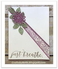 Crafts by Beth: Diagonal Split Card