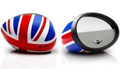 MINIのドアミラー型BluetoothスピーカーMIRROR BOOMBOX、apt-X / AAC やNFC対応 - Engadget Japanese Boombox, Gadgets, Mini, Gadget