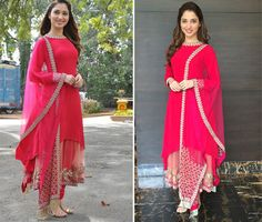 Tamanna Bhatia In Sabyasachi Mukherjee Punjabi Dress, Pakistani Dresses, Indian Dresses, Indian Outfits, Salwar Designs, Indian Attire, Indian Ethnic Wear, Indian Style, Patiala Salwar