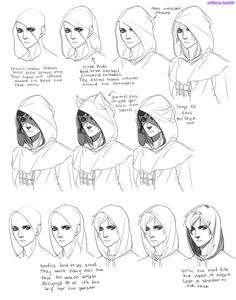 "solthrys: "" No more melted tomblerones or mising skulls, yyeann! This is my basic process for pretty much everything I draw. The key is understanding the shape of the garment you're trying to draw and..."