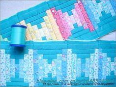 Patchwork Bag Tutorial. Bag for needlework ~ DIY Tutorial Ideas!