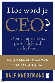 Hoe word je CEO?