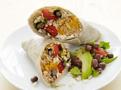 Chicken and Bean Burritos Recipe : Food Network Kitchens : Food Network - FoodNetwork.com