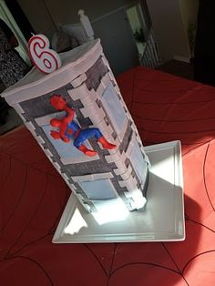 Spiderman cake....