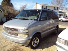 "My current vehicle -- a 1997 Chevy Astro Van.  The first car I ever bought brand new.  Bought old ""Bessie"" when my son was 17, daughter 14, and the baby was 2.  She hauled a lot of kids, dogs, Girl Scout cookies, building supplies, potting soil, plants and manure in her day -- but she IS a gas hog!"