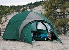 Field tested in Alaska where the winds alone can fold a lesser tent our Alaskan Guide Model Modified Geodesic Tent has prov & Athleta Ambassador Lacey Shelton starting camping before she could ...
