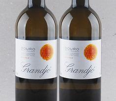 Direto do Douro, terras próprias para brancos: Grandjó Branco #vinho #vinhobranco #moscatel #grandjo