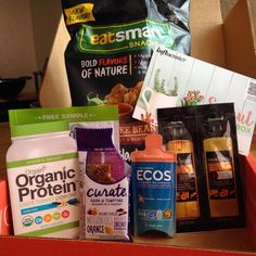 Influenster sprout voxbox free samples!! At your door - YouTube