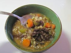 Day 3: Natural and Free: Spring Fling, Blogger-Style!: Beef and Barley Stew (Soy, Nut, Fish, Egg and Wheat-Free, Can Be Milk-Free)