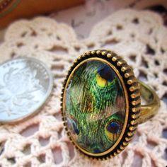 Luxury Big Round Crystal Ring