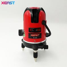 (36.54$)  Know more  - XEAST XE-50R slash functional Red beam 5 cross lines 6 points auto-leveling 360 degree rotary Laser Level better than Mtian