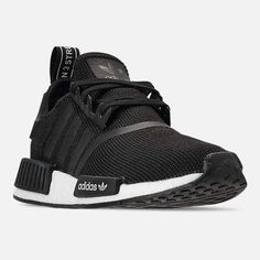 adidas Boys' Nmd Casual Sneakers from Finish Line - Black 6 Nmd Adidas Women Outfit, Boys Adidas Shoes, Adidas Shoes Nmd, Adidas Nmd Women, Adidas Nmd R1, Outfit Jeans, Kid Shoes, Cute Shoes, Addias Shoes