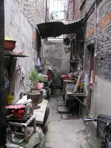 Chinese Outdoor Kitchen. We took this pic in Shanghai. I will never forget this day!