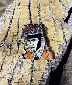 Stained Glass Brooch Gambit Glass Art Jewelry