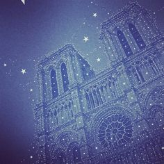 "Here's the Percolator effect I mentioned a few posts ago: ""full of stars"". It replaces the filter's bubbles with stars whose sizes vary according to the block of colour repl… Paris France, Notre Dame, Filters, Digital Art, Stars, Wells, Pavilion, City, Instagram Posts"