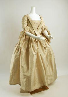 Dress Date: 1750 Culture: British Medium: silk
