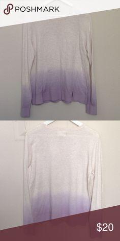 Lou & Grey Loft ombré sweater In brand new condition. Measurements: underarm 21in length 24.5in LOFT Sweaters Crew & Scoop Necks