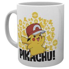 Ash Hat Pikachu - Tasse von Pokemon