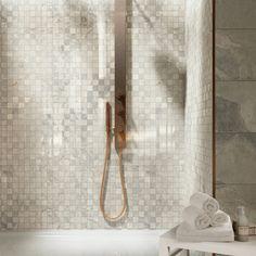 La Fabbrica Ceramiche – HIGH LINE Collection - www.lafabbrica.it - #Chelsea colour #bathroom #mosaic #stone