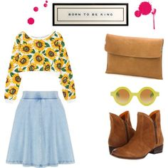 """""""Daisies and boots"""""""