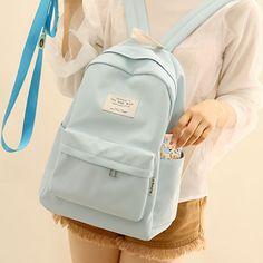 Cheap Backpacks, Backpacks For Sale, Cute Backpacks, Korea Fashion, Fashion Bags, Fashion Backpack, Cute School Bags, Oxford, Backpack For Teens