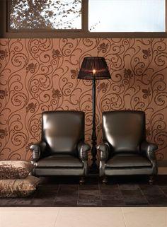 Arte Behang 'Amazone' I Photography by Frank Brandwijk I Interior 'Classic Wallpaper' 'Brown Beige'
