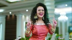 """Neha Kakkar who is a singer has worked with her sister Sonu Kakkar and brother Tony Kakkar on various music projects. Neha Kakkar believes that they inspire her tremendously. All of them has a """"huge positive influence"""" on each other. Neha Kakkar Dresses, Sonu Kakkar, Indian Idol, Punjabi Couple, Kurti Designs Party Wear, Latest Celebrity News, Stylish Sarees, Music Photo, Beautiful Bollywood Actress"""