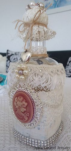 Shabby Chic Bottle