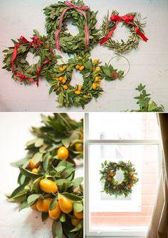 3 Wreaths to Make for the Holidays | http://floor-designs-alta.blogspot.com