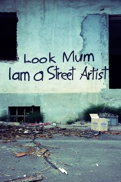 Ideas Street Art Graffiti Quotes Artists For 2019 Graffiti Kunst, Street Art Graffiti, Banksy Graffiti, Alternative Kunst, Arte Grunge, Graffiti Quotes, Street Art Quotes, Land Art, Pics Art