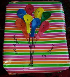 Cadeau inpakken op een creatieve manier