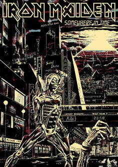 Somewhere in time -Iron Maiden