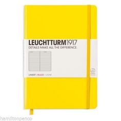 LEUCHTTURM-1917-MEDIUM-A5-NOTEBOOK-Ideal-Bullet-Journal-22-colours-available