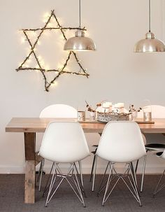 <3 DSR Chairs - love the table too