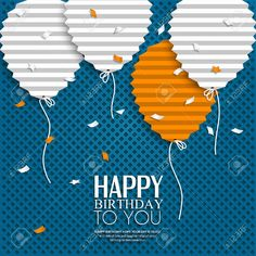 124 best top 2018 greeting card ideas design your wishes images on best greeting card ideas birthday card with balloons in the style of flat m4hsunfo