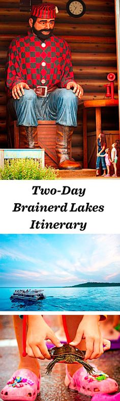 Lakeside family fun defines Brainerd Lakes, 130 miles north of the Twin Cities: http://www.midwestliving.com/travel/minnesota/brainerd/two-day-brainerd-lakes-itinerary/ #minnesota #brainerd #vacation