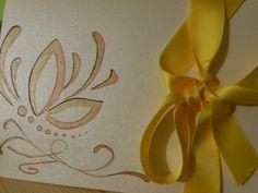 cartoncino perlato disegnato a mano