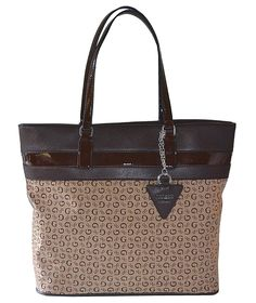 GUESS Signature Buenos Dias Tote Bag Handbag Mocha >>> You can get more details by clicking on the image. (This is an Amazon Affiliate link and I receive a commission for the sales)