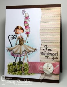 CT0813 - I'm Sweet on You by Nin Nin - Cards and Paper Crafts at Splitcoaststampers