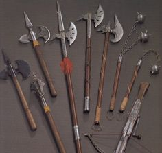 medieval weapons are great for zombie slaying