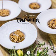 Tapioca é uma paixão por aqui e hoje a receita é do maravilhoso Dadinho preparado com esse ingrediente, que já virou uma das assinaturas da nossa querida chef e amiga Luiza Zaidan.