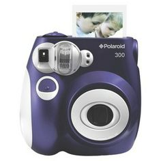 Polaroid 300 Instant Camera For Nate's big brother gift!