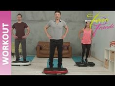 bauch beine po Vibration plate Slim - Workout II Fitness Friends - Vibration plate exercises for weight loss ✅ belly legs butt workout ✅ back ✅ neck ✅ DVD or - Leg Butt Workout, Friends Workout, Toned Tummy, How To Start Yoga, Healthy Lifestyle Quotes, Workout Bauch, My Yoga, Kettlebell, Yoga Fitness