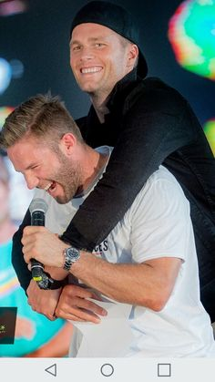 Tom Brady and Julian Edelman New England Patriots Merchandise, New England Patriots Football, Patriots Fans, Patriots Cheerleaders, Julian Edelman, Football Boys, Football Memes, Football Players, Edelman Patriots