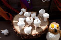 Meringue Mushrooms- Gruffalo/woodland party