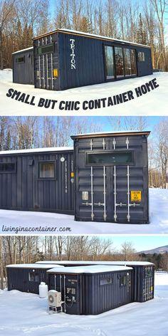 Cargo Container Homes, Storage Container Homes, Container Buildings, Container Houses, Container House Design, Shipping Container Design, Shipping Containers, Cargo Home, Usa Living