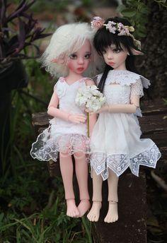 JpopDolls.net ™ :: Dolls :: Kaye Wiggs Dolls :: Laryssa :: Laryssa Softest Pink no hooves (PREORDER)