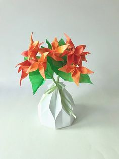 62 best small origami flower arrangements images on pinterest origami flowers paper flowers origami gifts amazing gifts flower arrangements best mightylinksfo